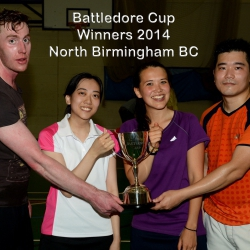 Winners North Birmingham Badminton Club